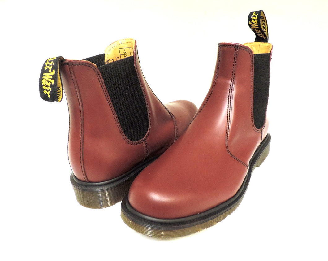 Dr. Martens Chelsea Cherry Red - Got Your Shoes