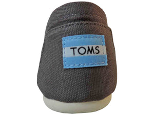 Toms Classic Ash Canvas Slip On - Got Your Shoes