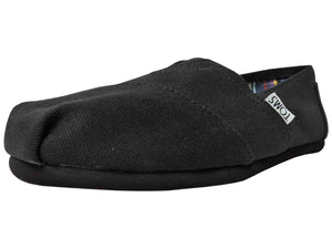 Toms Women's Classic Canvas Black / Black - Got Your Shoes