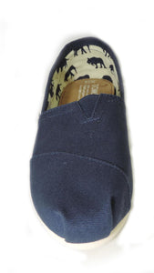 Toms Women's Classic Navy Canvas - Got Your Shoes