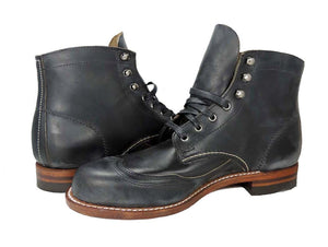 Wolverine Men's Addison 1000 Mile Wingtip Boot Black - Got Your Shoes