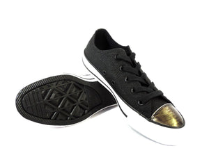 Converse Chuck Taylor All Star Brush-Off Leather Toecap Lo - Got Your Shoes
