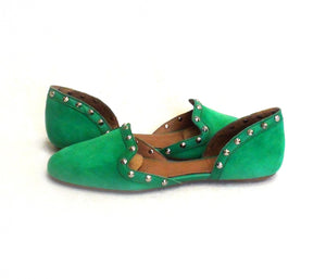 Corso Como Regal Green Suede - Got Your Shoes