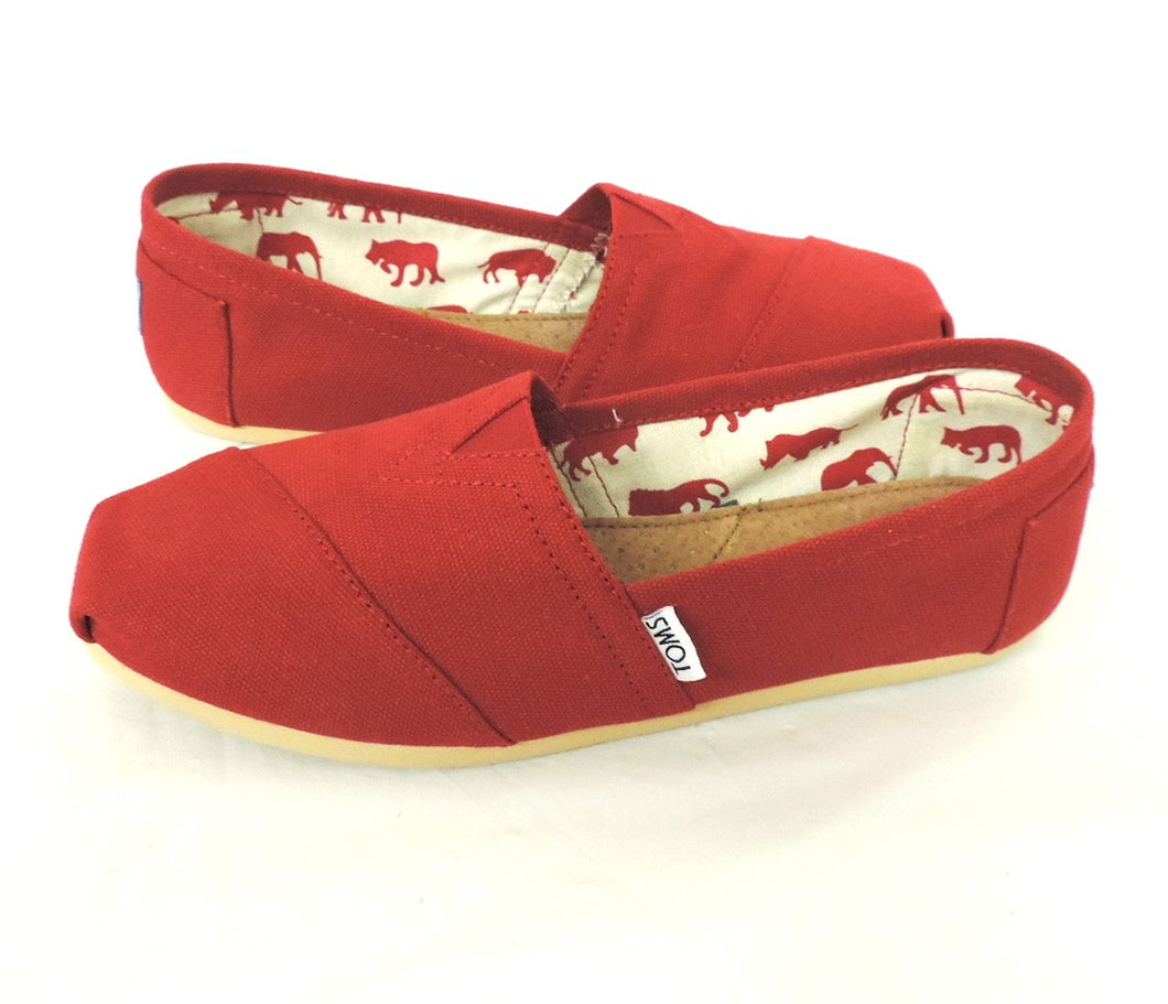 Toms- Red Canvas Classics - Got Your Shoes