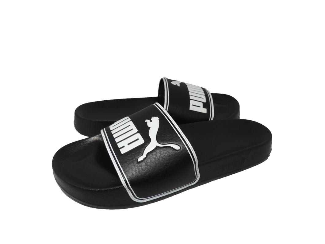 Puma Leadcat Men's Slide Sandal in Black