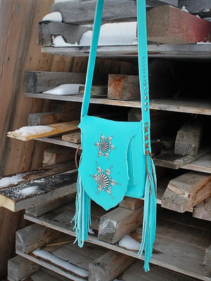 Raw Edge Crossbody