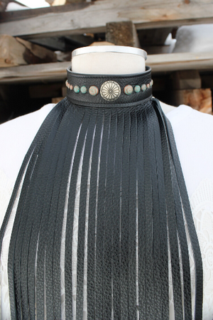 Fringe Choker Necklace