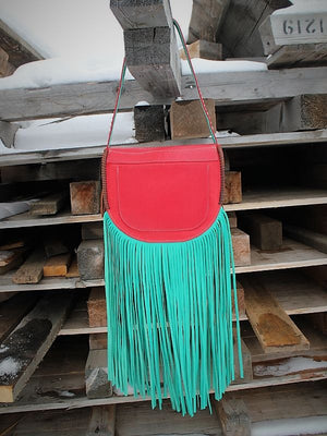 XL Fringe Saddlebag