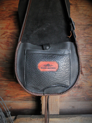 Raw Edge Saddlebag