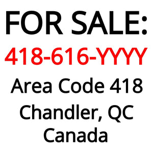 Chandler, QC : 418-616-YYYY