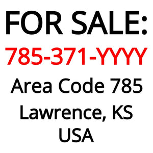 Lawrence, KS : 785-371-YYYY