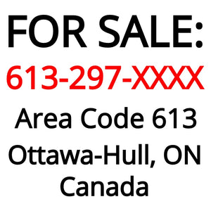 Ottawa-Hull, ON : 613-297-XXXX
