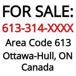 Ottawa-Hull, ON : 613-314-XXXX