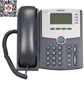 ( USED , Unlocked ) Cisco Spa504G 4 Line IP Phone with POE function (Tested with Ringcentral & Vonage)