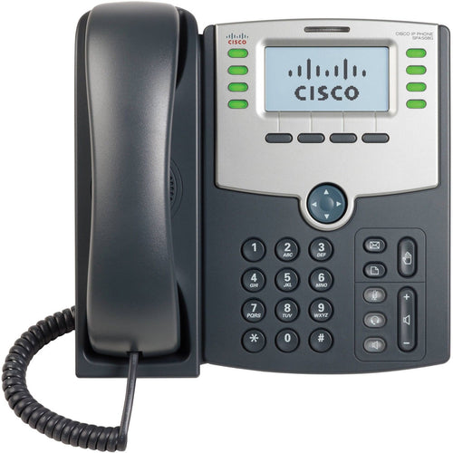 Cisco Spa508G 8 Line IP Phone with POE function.Tested with Ringcentral & Vonage