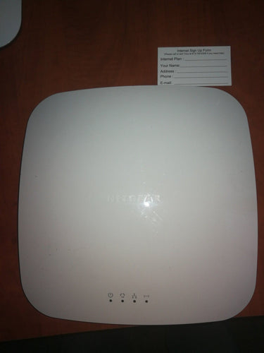( Refurbished ) Netgear WNDAP360 dual band POE wireless access point Cloud or standalone mode