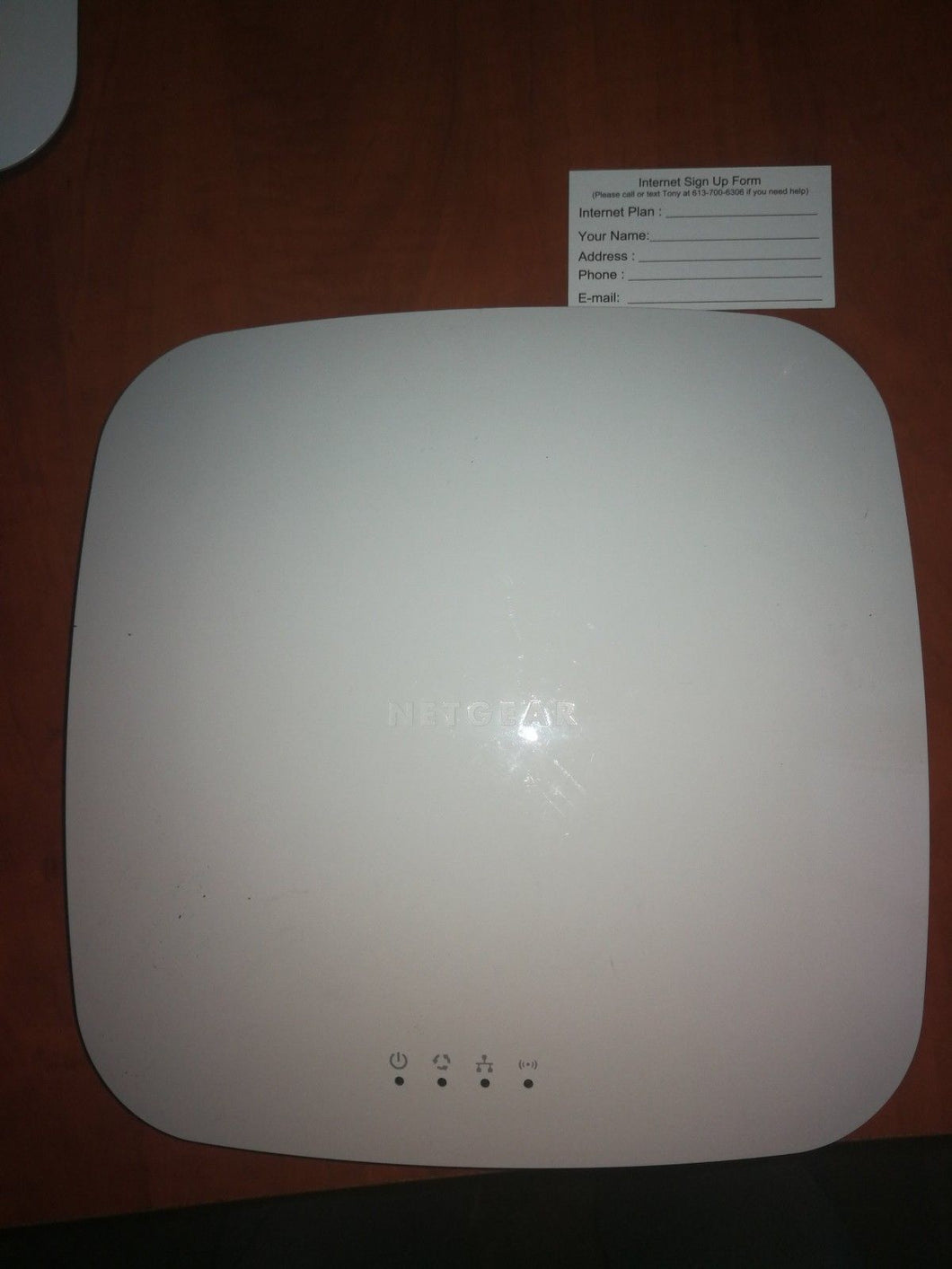 Netgear WNDAP360 dual band POE wireless access point Cloud or standalone mode