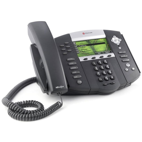 Polycom 670 SoundPoint IP Phone for Ringcentral or Vonage with Power Supply