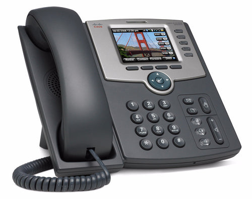Cisco Spa525G 5 Line IP Phone build-in Wifi (Tested with Ringcentral & Vonage)