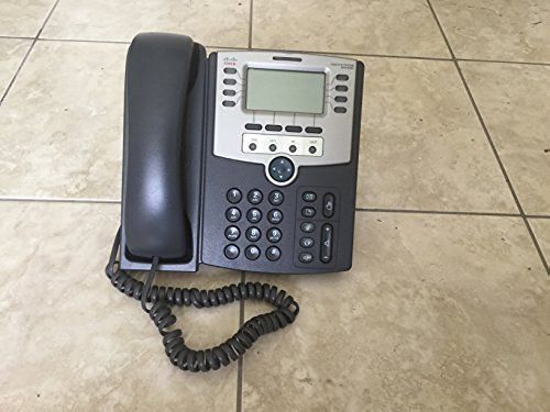 Cisco Spa509g 12 Line Phone W/ Power Supply (Tested with Ringcentral & Vonage)
