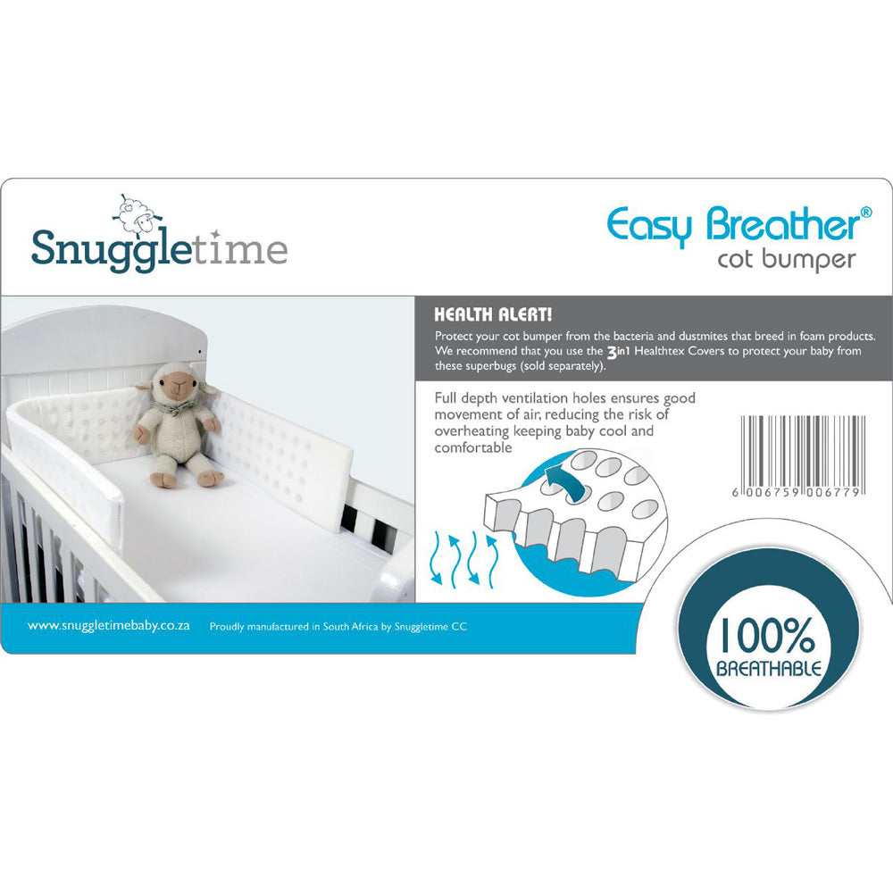 Snuggletime Easy Breath Cot Bumper Inner