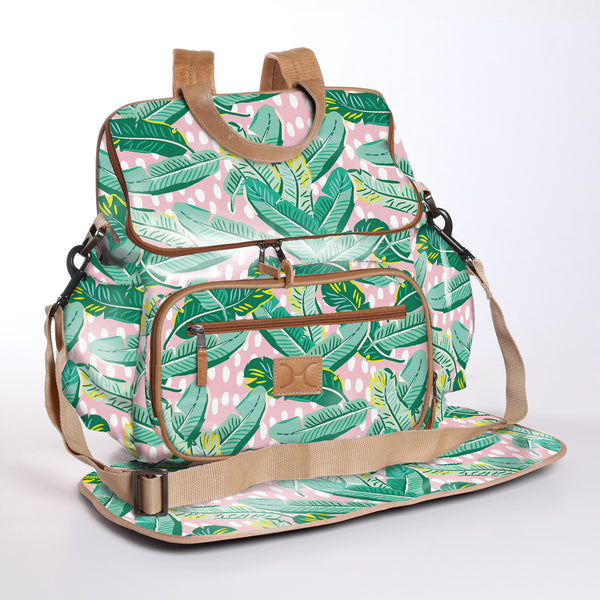 Nappy Backpack Laminated Fabric -15%.Discount