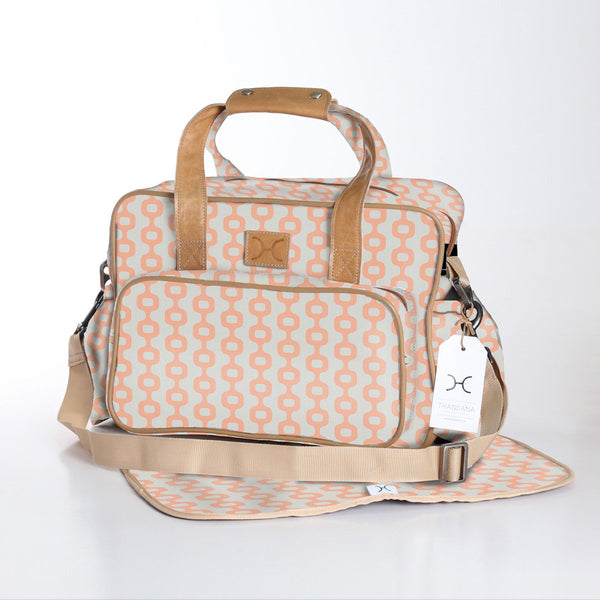 Nappy Bag Laminated Fabric -25%.Discount