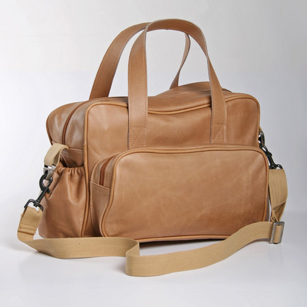 Thandana Nappy Bag Leather -25%.Discount
