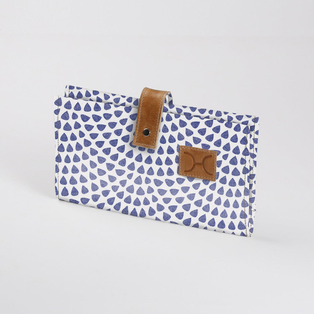 Nappy Wallet Laminated Fabric -30%.Discount
