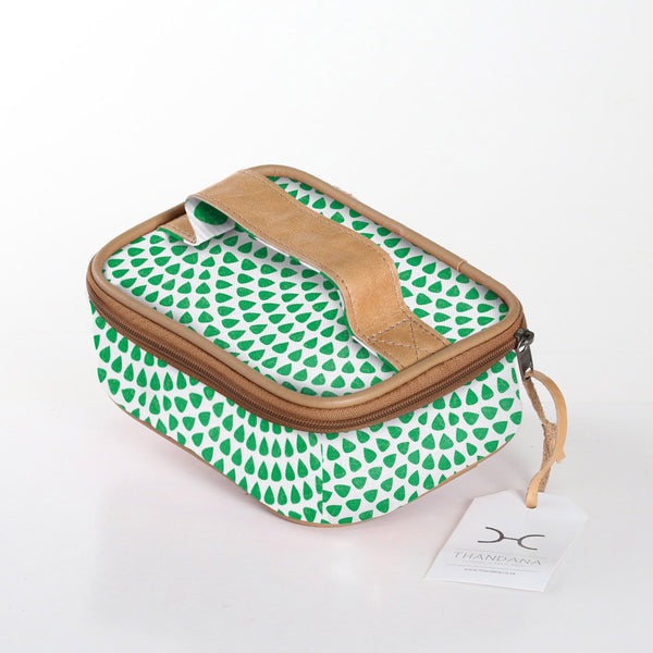 Single Toiletry Bag Laminated Fabric -20%.Discount