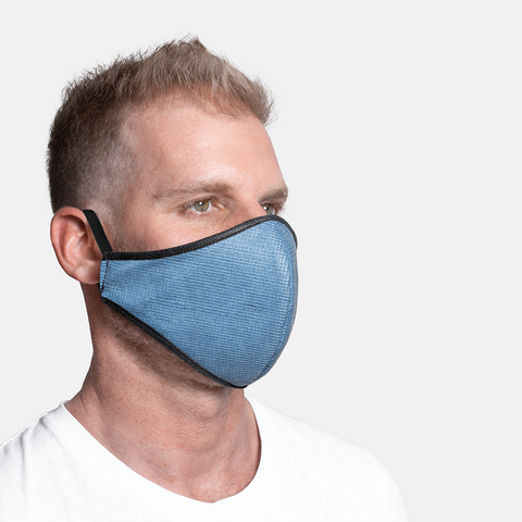 Formal - Denim Print 3ply Mask S/M/L/XL