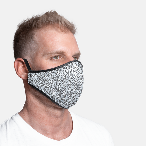 Formal - Army Black 3ply Mask S/M/L/XL