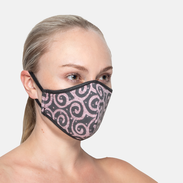 Formal - Damask 3ply Mask S/M/L/XL
