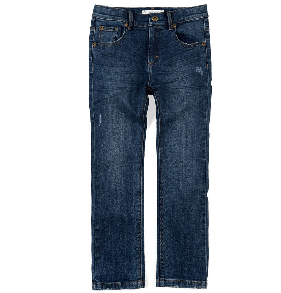 APPAMAN - Medium Wash Slim Jeans