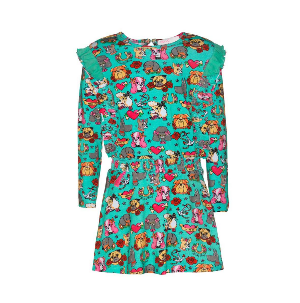 MIM-PI - Dog Dress Green