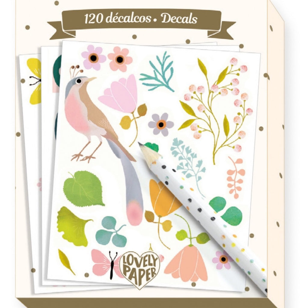 Lovely Paper- Decals Tinou