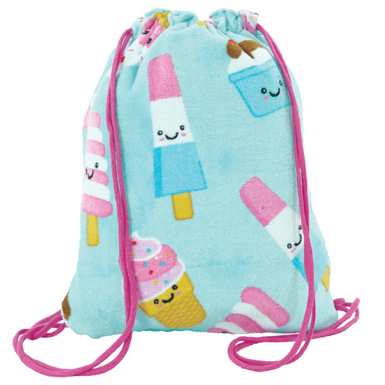 iScream - Ice Cream Treats Towel Backpack