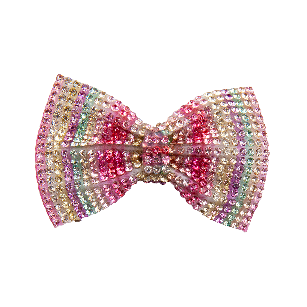 Great Pretender- Gem Bow Hairclip