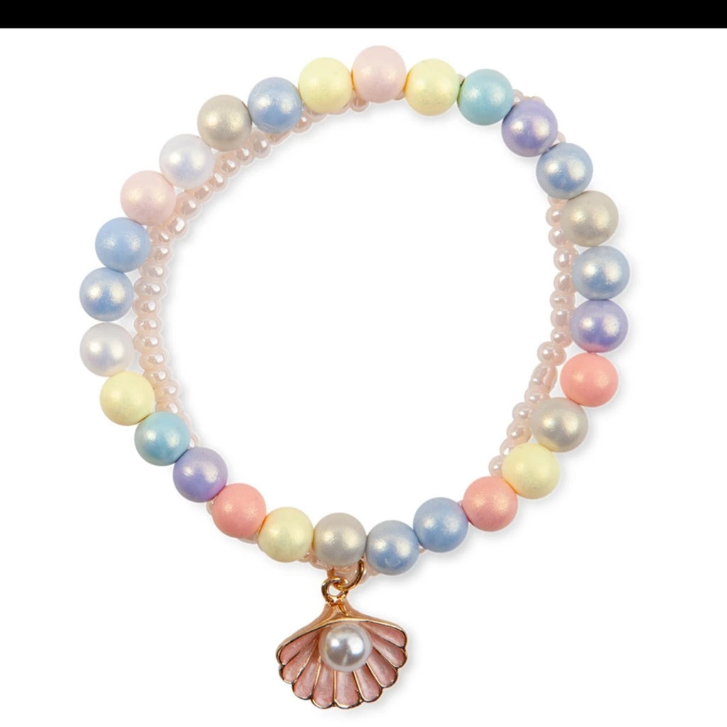 Great Pretenders- Boutique Pastel Shell Bracelet