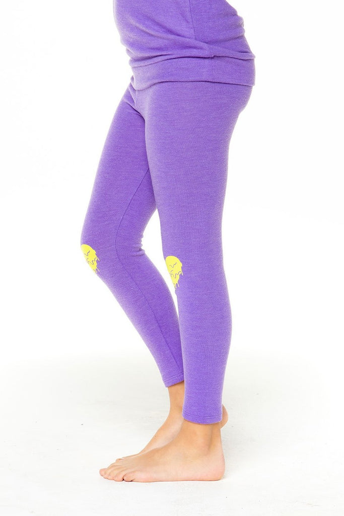 Chaser- HEART SLIME Purple  Leggings