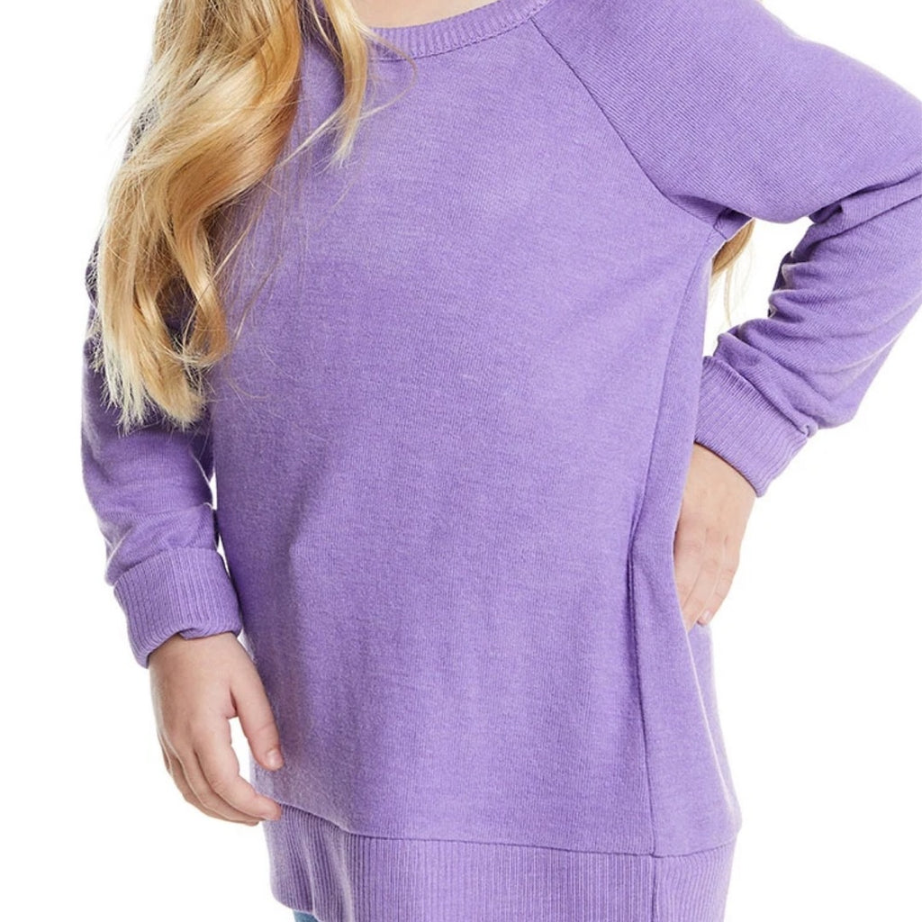 Chaser- Knit Purple Sweater