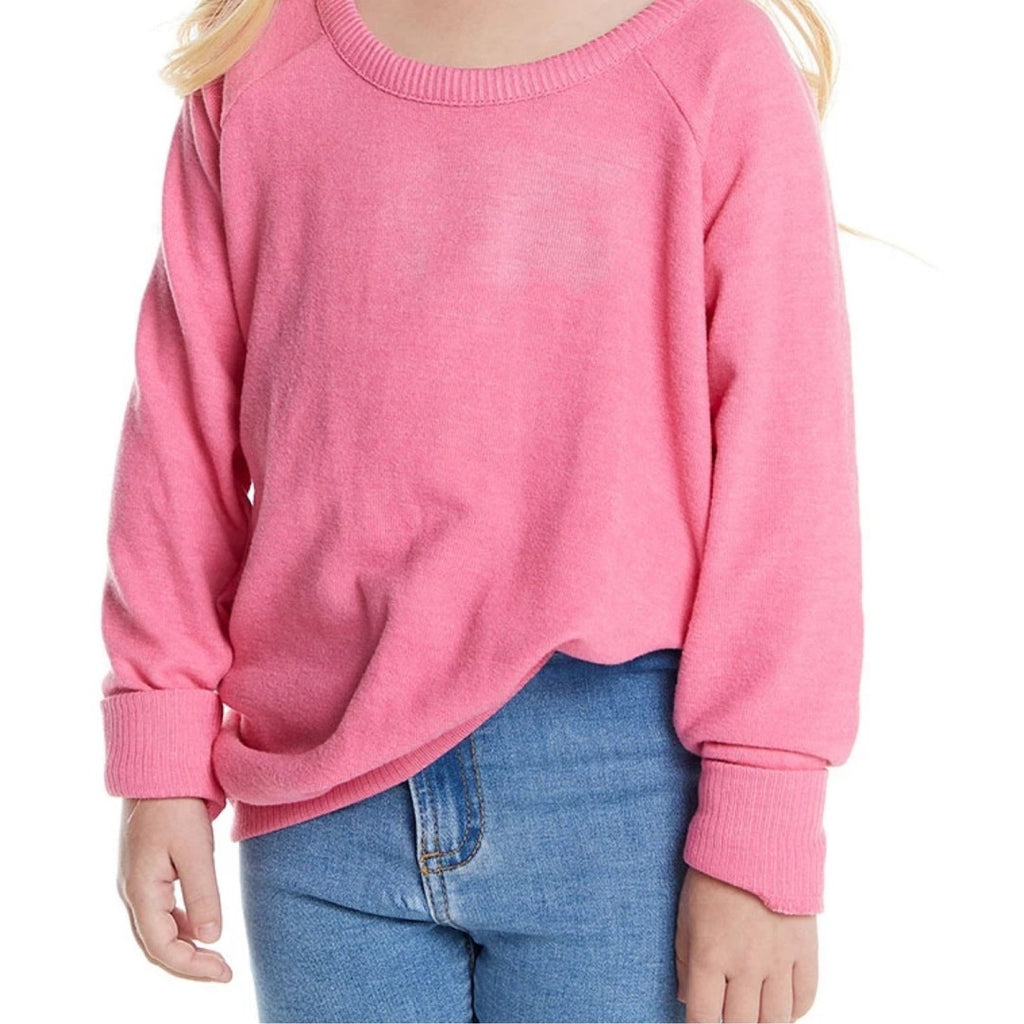 Chaser- Pink Lady Knit Sweater