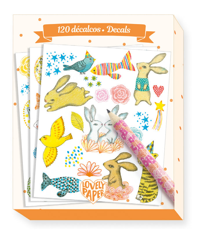 Lovely Paper- Decals Elodie