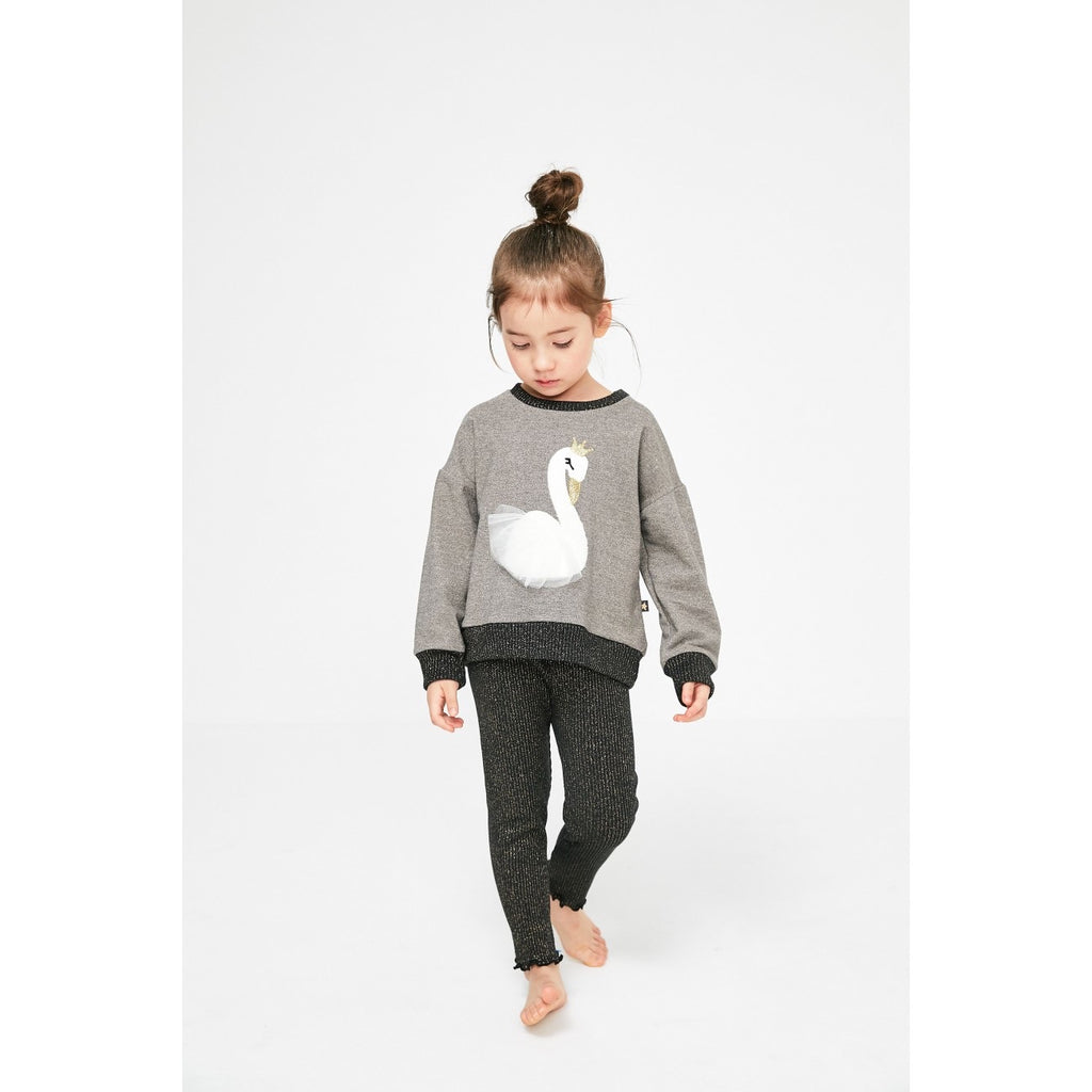Petite Hailey- Swan Sweater