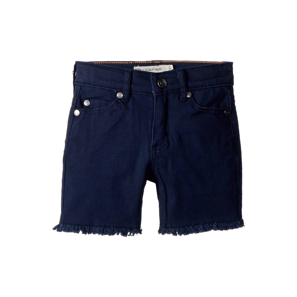 APPAMAN Navy Jean Shorts
