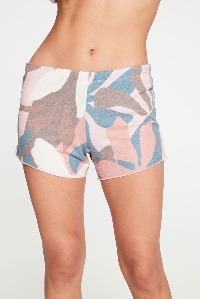 Chaser- Abstract Floral Shorts