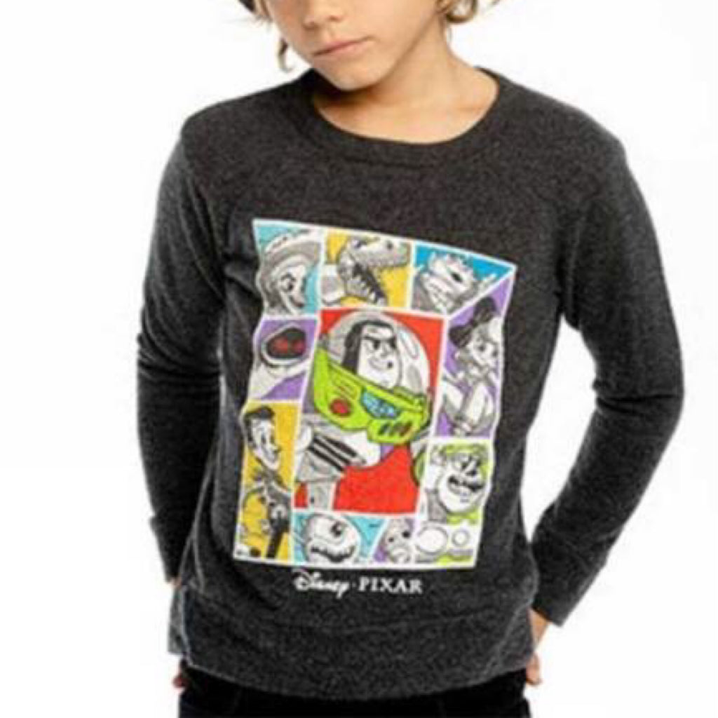 Chaser- Toy Story Buzz and Friends Love Knit Pullover