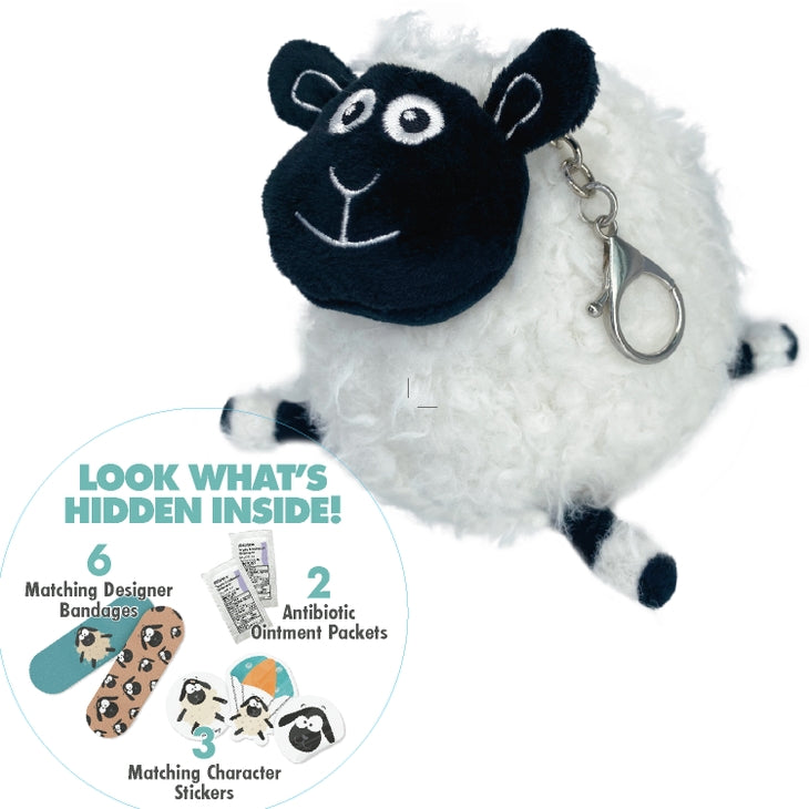 Boo Boo Ball Arlo Sheep Key Chain