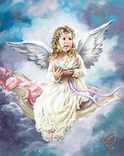 Cloud Angel Full Square Diamond Painting