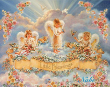 Angel Little Blessing Full Square Diamond Painting